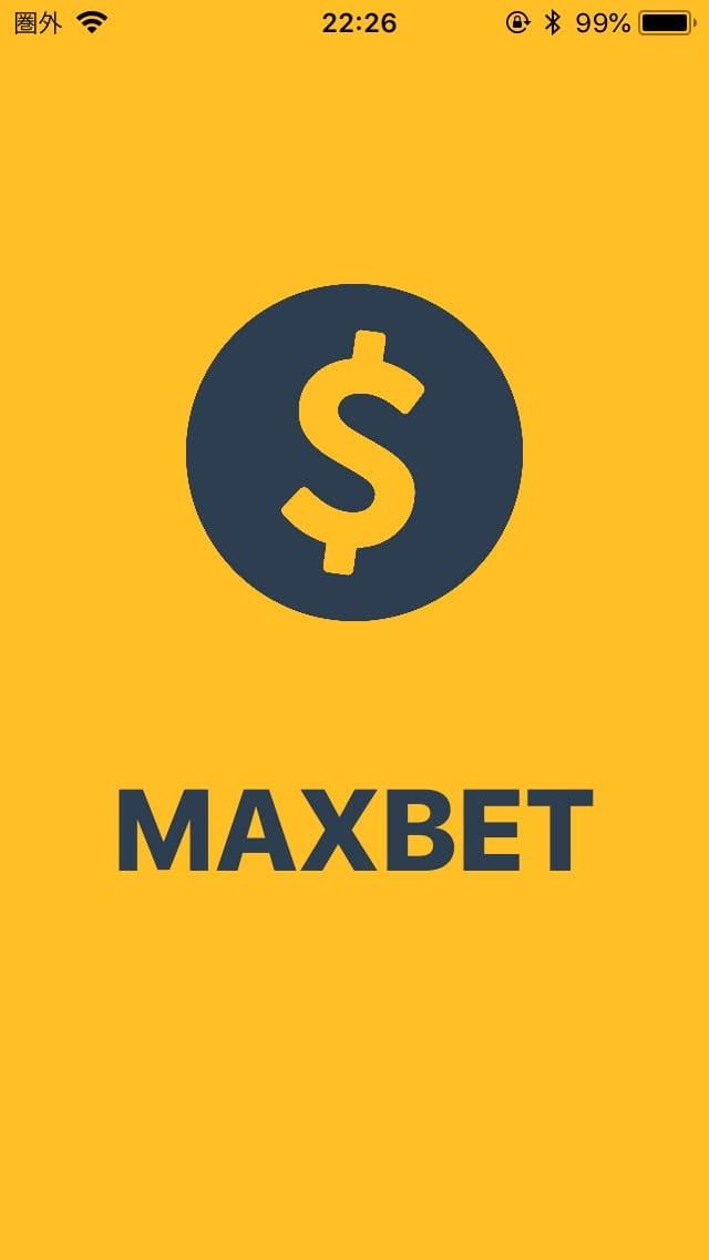 収支帳 MAXBET