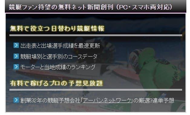 最強競艇3連単予想完全版 特徴