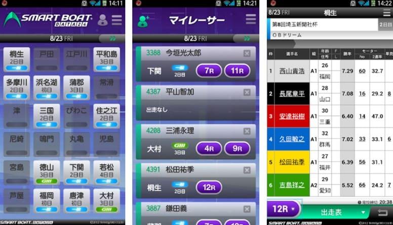 競艇アプリSMART BOAT DATA 24