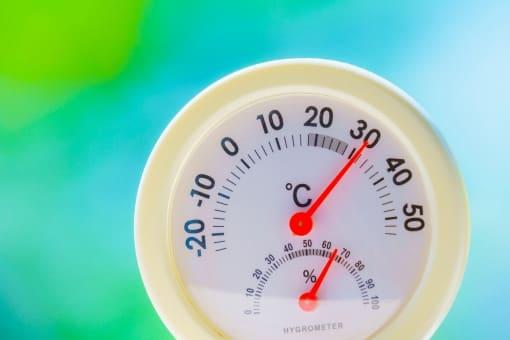 ナイター 気温の変化