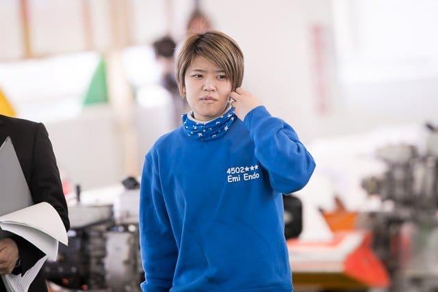 遠藤エミ選手