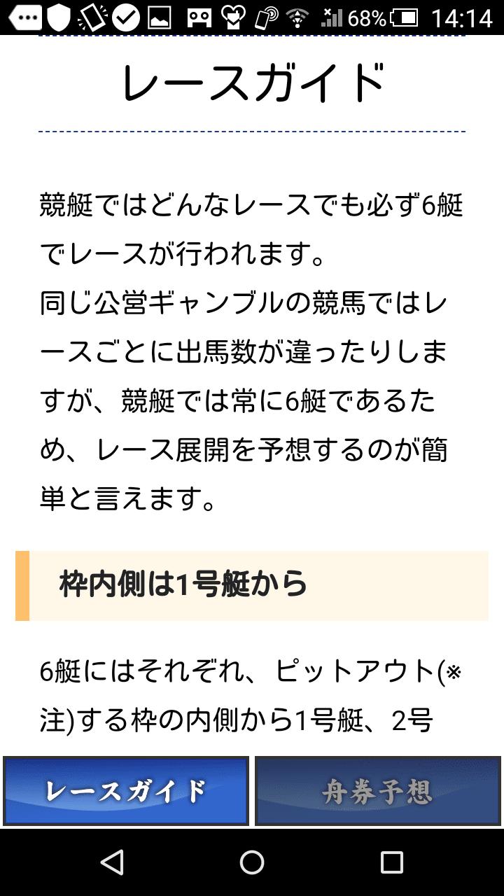 万舟券予想 競艇ガイド