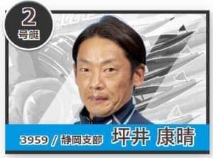 ドリームレーサー賞の2号艇(坪井康晴)