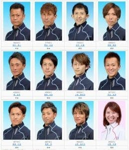 九州地区選手権2021(大村競艇G1)のドリーム戦に出る12人の情報