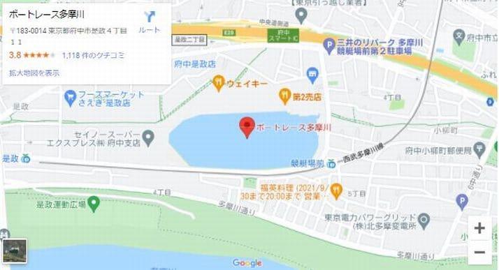 ウェイキーカップ2021(多摩川競艇G1)のアクセスと新型コロナウイルス対策(ボートレース多摩川入場時の注意事項つき)